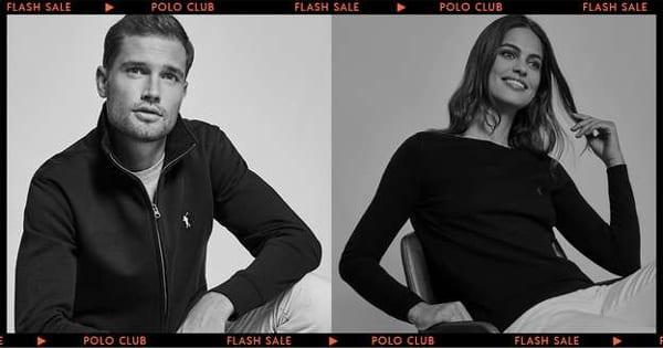 Flash Sale en Polo Club, ropa de marca barata, ofertas en ropa, chollo