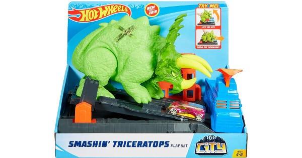 Hot Wheels Ataque del Triceratops barato, juguetes baratos, chollo