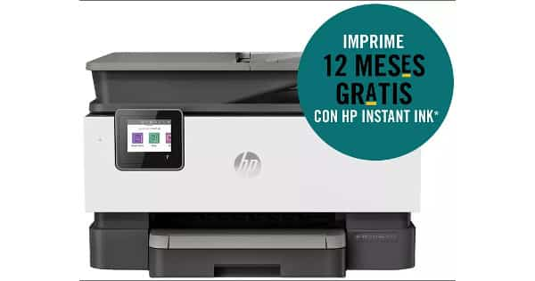 Impresora multifunción WiFi HP OfficeJet Pro 9012 barata, impresoras baratas, chollo