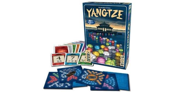 Juego de mesa Devir Yangtze barato, juegos de mesa baratos, chollo