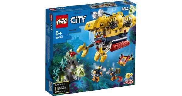 LEGO City Oceans submarino de exploración barato, LEGO baratos, chollo