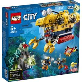 LEGO City Oceans submarino de exploración barato, LEGO baratos
