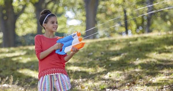 Lanzador de agua Nerf Super Soaker Twin Ride barato, juguetes baratos, chollo