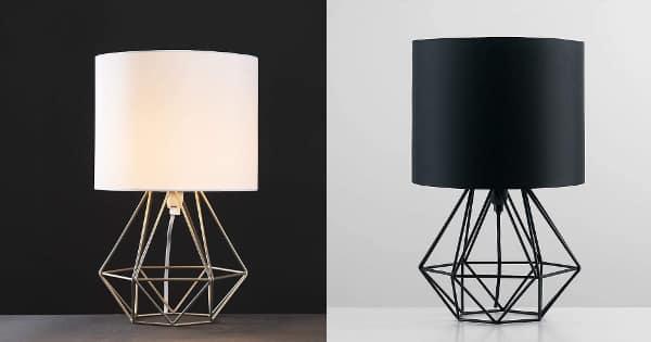 Lámpara de mesa MiniSun barata, lámparas baratas, ofertas para la casa chollo