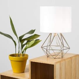 Lámpara de mesa MiniSun barata, lámparas baratas, ofertas para la casa
