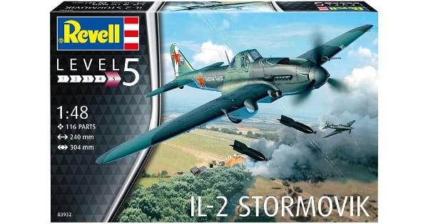 Maqueta Revell de avión IL-2 Stormovik barato, maquetas baratas, chollo