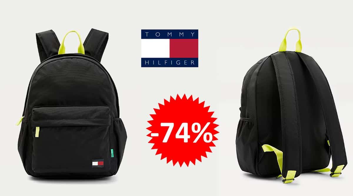 Mochila Tommy Hilfiger Core barata, mochilas para niños de marca baratas, ofertas en equipaje, chollo