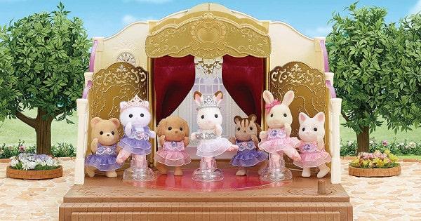 Muñecas Sylvanian Families - Teatro de Ballet baratas, muñecas baratas, chollo