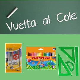 Ofertas para la Vuelta al cole, material escolar barato