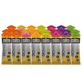 Pack de 15 geles isotónicos Science in Sport SiS Go baratos, gel isotónico barato, ofertas nutrición deportiva