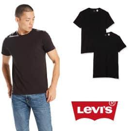 Pack de 2 camisetas básicas Levi's Pack Crew baratas, camisetas baratas, ofertas en ropa,