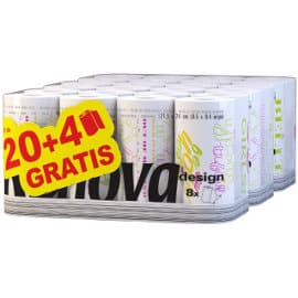 Pack de 24 rollos de papel de cocina Renova baratos, papel de cocina barato, ofertas supermercado