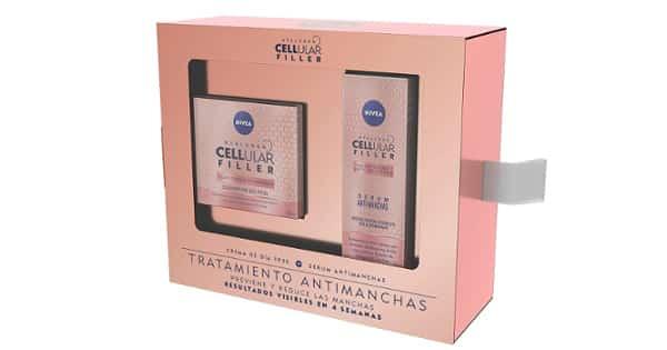 Pack de cuidado facial Nivea Hyaluron Cellular Filler barato, cremas baratas, ofertas belleza, chollo
