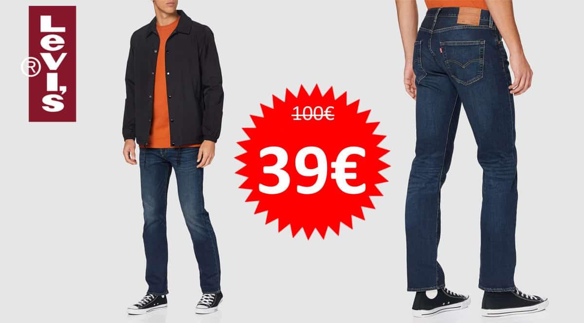 Pantalón vaqueros Levi's 501 Original Fit barato. Ofertas en ropa de marca, ropa de marca barata, chollo