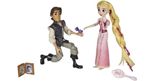 Playset de 2 figuras de Rapunzel Enredados Propuesta Real barato, juguetes baratos, ofertas para niños, chollo
