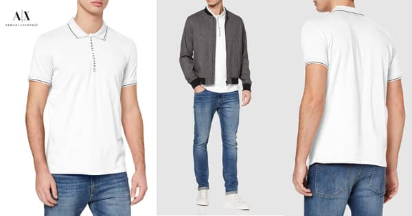 Polo Armani Exchange Hidden Buttons barato, polos baratos, ofertas en ropa de marca, chollo