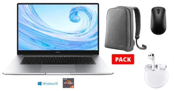 Portátil Huawei MateBook D 15 con Freebuds 3 barato, ofertas en portátiles, portátiles baratos, chollo
