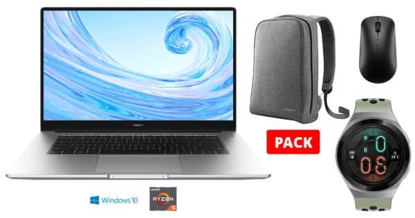 Portátil Huawei MateBook D 15 con regalos barato, ofertas en portátiles, portátiles baratos, chollo