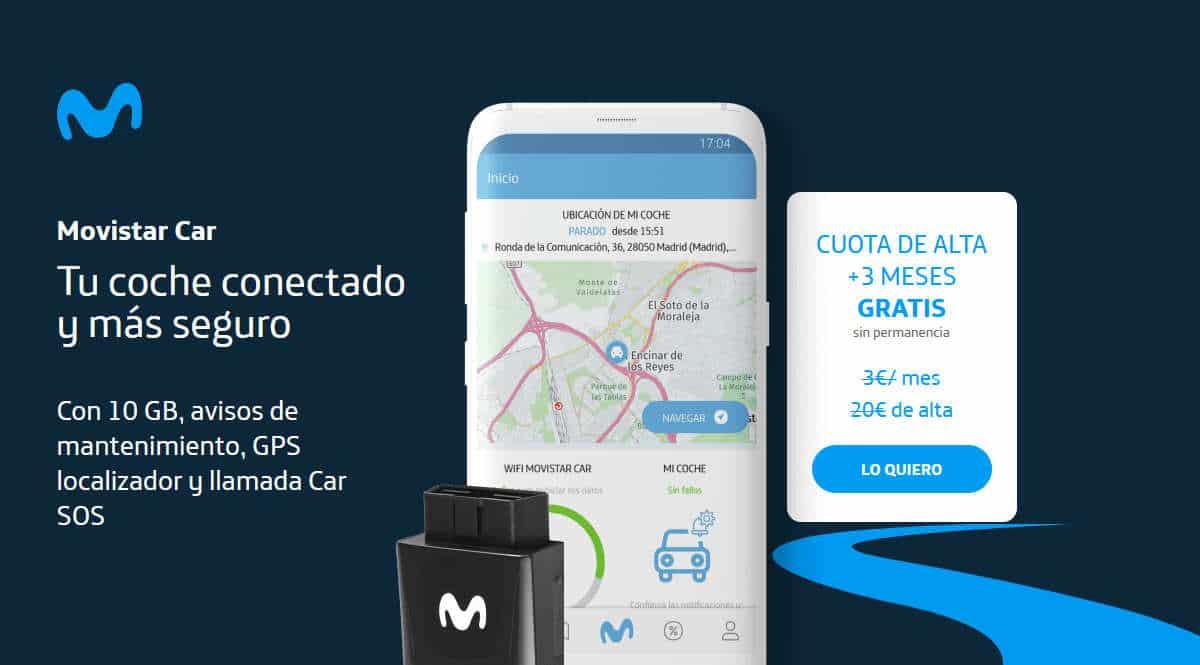 Prueba Movistar Car gratis 3 meses, chollo