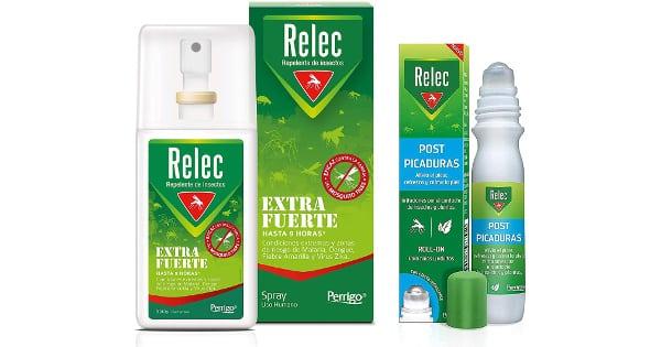 Repelente antimosquitos Relec Extrafuerte + Relec Post-Picaduras barato, repelentes insectos baratos, ofertas supermercado, chollo