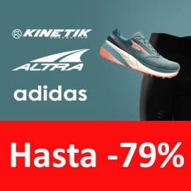 Ropa y calzado de trail running barata, ropa de marca barata, calzado barato
