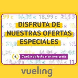 Vuelos baratos con Vueling, ofertas en viajes