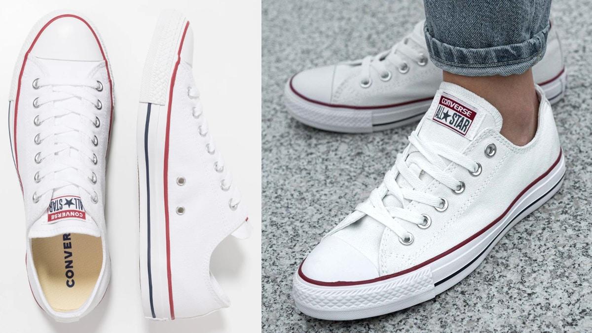 Zapatillas Converse Chuck Taylor All Star blancas baratas, calzado de marca barato, ofertas en zapatillas chollo