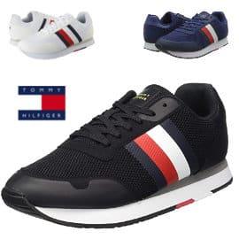 Zapatillas para hombre Tommy Hilfiger Corporate Material Mix Runner baratas, calzado barato, ofertas en zapatillas de marca