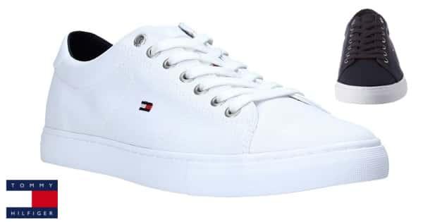 Zapatillas para hombre Tommy Hilfiger Seasonal Textile baratas, zapatillas de marca baratas, ofertas calzado, chollo