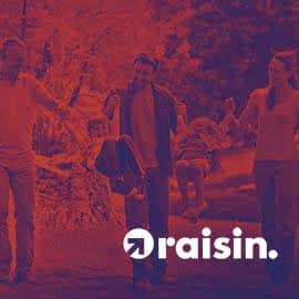 Promoción de bienvenida en Raisin