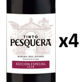 4 botellas de Vino Ribera del Duero Tinto Pesquera Edición Especial 2018 baratas. Ofertas en vino, vino barato
