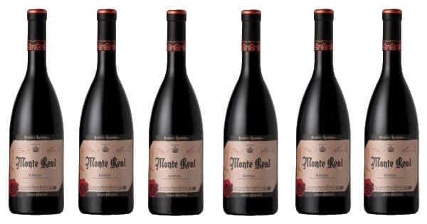 6 botellas de vino D.O. Rioja Monte Real Gran Reserva 2012 baratas. Ofertas en vino, vino barato, chollo