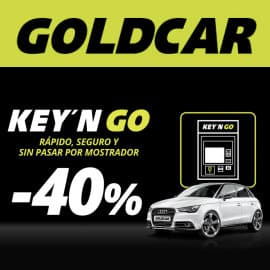 Alquiler de coches Key'n GO Goldcar, alquiler de coches barato