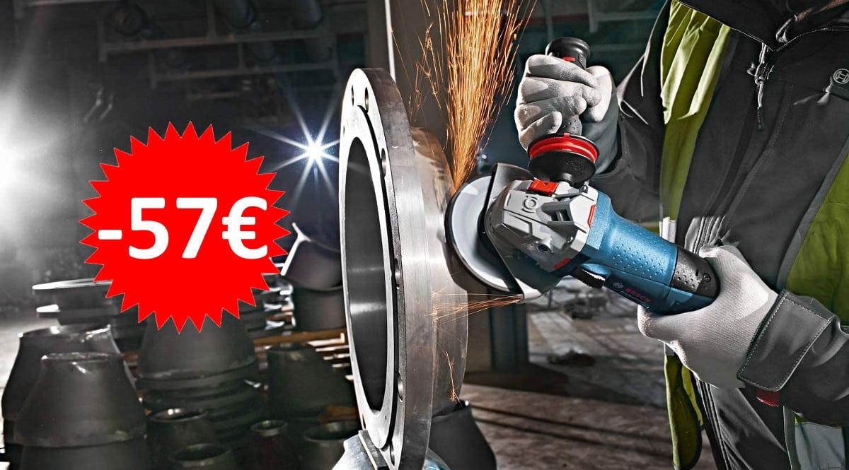 Amoladora Bosch Professional GWS 13-125 CIE barata. Ofertas en herramientas, herramientas baratas, chollo