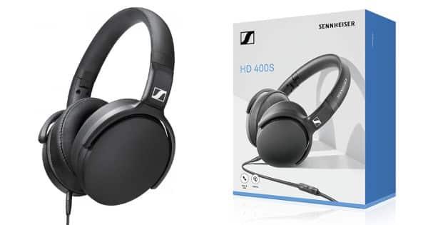 Auriculares Sennheiser HD 400S baratos, auriculares baratos, chollo