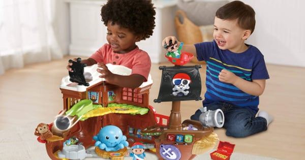 Barco Pirata Cazatesoros Tut Tut Amigos de Vtech barato, juguetes baratos, ofertas para niños, chollo