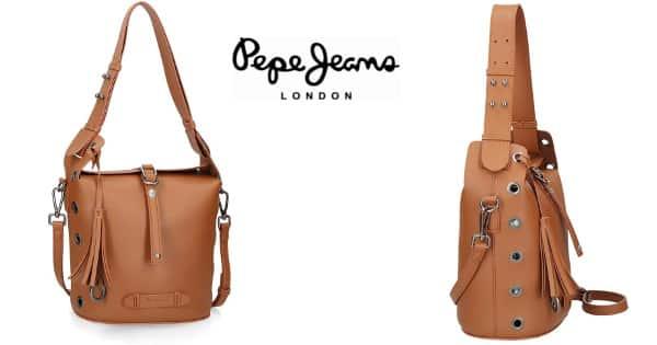 Bolso de hombro Pepe Jeans Angelica barato, bolsos de marca baratos, ofertas moda, chollo