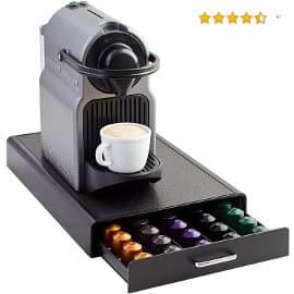 Cajón para almacenar cápsulas de Nespresso AmazonBasics barato, organizadores de cápsulas baratos, ofertas casa