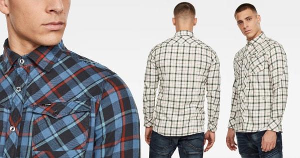 Camisa G-Star Raw Arc 3D barata, ropa de marca barata, ofertas en camisas chollo