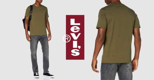 Camiseta Levis 501 Original Tee barata. Ofertas en ropa de marca, ropa de marca barata, chollo
