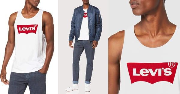 Camiseta Levi's Graphic Tank Top barata, ropa de marca barata, ofertas en camisetas chollo