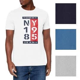 Camiseta Tommy Jeans 1985 barata, ropa de marca barata, ofertas en camisetas