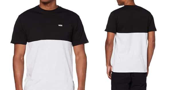 Camiseta Vans Colorblock barata, ropa de marca barata, ofertas en camisetas chollo