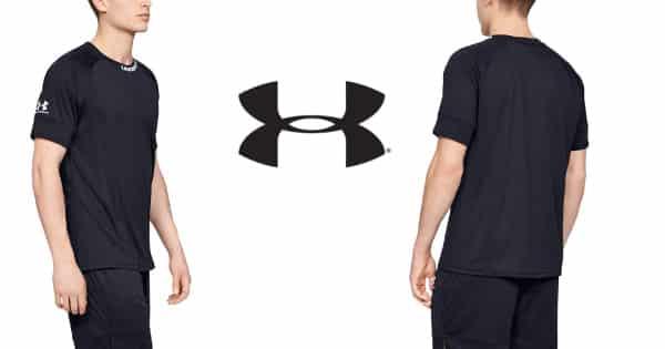 Camiseta para entrenamiento Under Armour Challenger III barata, camisetas técnicas baratas, ofertas ropa deporte, chollo
