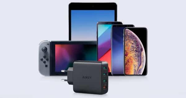 Cargador USB rápido Aukey PA-T18 barato, ofertas en cargadores rápidos, cargadores rápidos baratos, chollo