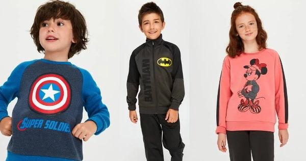 Chándales Sprinter baratos, ropa de marca barata, ofertas para niños chollo
