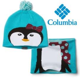 Conjunto de gorro y cuello Columbia Toddler Snow barato, ropa de marca barata, ofertas para niños