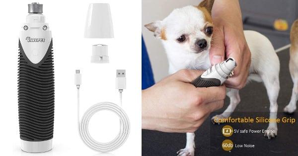 Cortaúñas eléctrico Dadypet para perros y gatos barato, cortaúñas para mascostas baratos, chollo