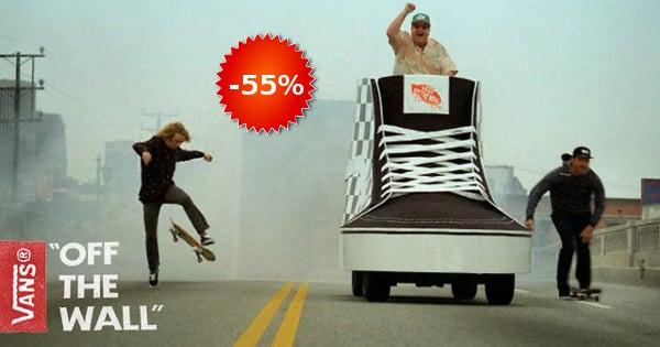 Cupón rebajas de Vans baratas, calzado barato, ofertas en ropa de marca chollo