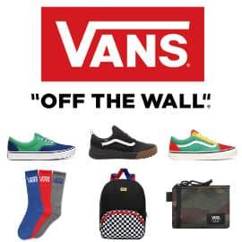 Cupón rebajas de Vans baratas, calzado barato, ofertas en ropa de marca